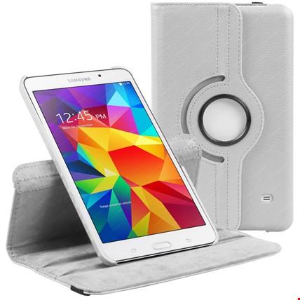 Samsung Tab 3 10.1 Standlı Kılıf P5200 P5210 Renk: Beyaz