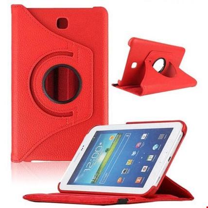 Samsung Tab 3 10.1 Standlı Kılıf P5200 P5210 Renk: Kırmızı