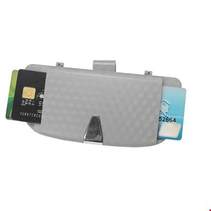 Universal Araç Oto Güneşlik Gözlük Kutusu Tutucu Renk: Gri