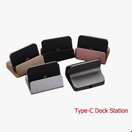 Type-C Usb 3.1 Masaüstü Dock Şarj Cihazı Renk: Siyah