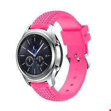 Xiaomi AMAZFIT Bluetooth Nabız GPS Akıllı Saat Silikon Kordon Renk: Pembe