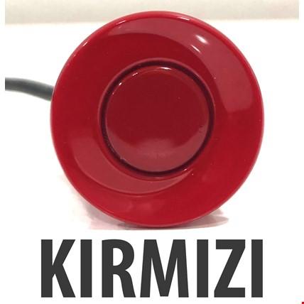 Yedek Park Sensörü Gözü Tekli 22mm Renk: Kırmızı