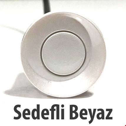 Yedek Park Sensörü Gözü Tekli 22mm Renk: Sedefli Beyaz