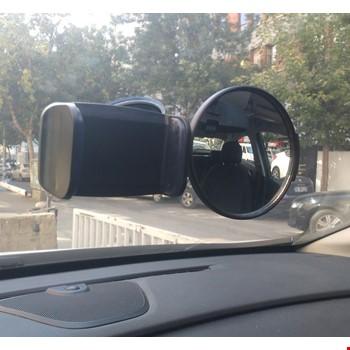 Oto Araç İçi Bebek Çocuk İzleme Aynası ve Telefon Tutacağı SY-108