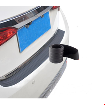 Oto Araç Universal Tampon Üstü Eşiği Kauçuk Koruyucu Siyah