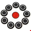 Oto Araç Universal Tampon Köşe Koruyucu Silikon Yastık Renk: Siyah