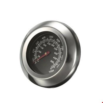 Mangal Barbekü Fırın Termometresi Sıcaklık Ölçer 40-530 Derece