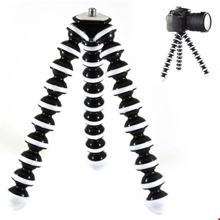Pro Esnek Ahtapot Tripod Telefon Aksiyon Kamera DSLR Için 24cm