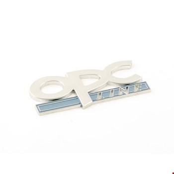 Opel OPC Line Amblem Metal Logo Dekoratif Paslanmaz Bagaj Logosu