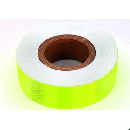 Reflektör Foforlu Reflektiv Şerit Bant TüvTürk Uyumlu 2 Metre Renk: Yeşil
