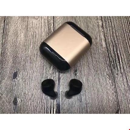 iPhone Samsung Huawei Kablosuz S7 Bluetooth Kulaklık Şarj Kutulu Renk: Altın  Dore
