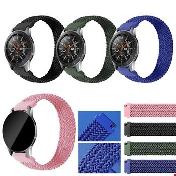 Huawei Watch Gt2 Honor Watch 42mm Örgü Solo Loop TME Kordon 125mm