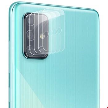 Samsung Galaxy A71 Yüksek Çözünürlük Kamera Koruma Camı