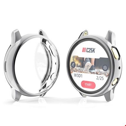 Huawei Watch Gt2 46mm Silikon Kapak Kılıf Ekran Koruyucu Renk: Gri