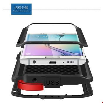 Samsung Galaxy S6 Edge Kılıf Lovemei Askeri Kılıf