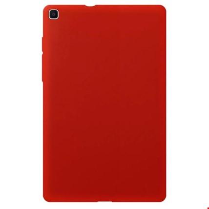 Samsung Galaxy Tab A 8 inç T290 Silikon Kılıf Renk: Kırmızı