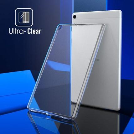 Samsung Galaxy Tab A7 10.4 (2020) T500 Silikon TPU Şeffaf Kılıf