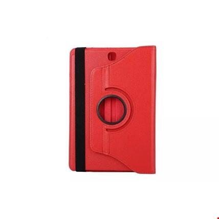 Samsung Galaxy Tab A T280 T580 360 Ayarlanabilir Kılıf Standlı Tablet Modeli: Tab A T280Renk: Kırmızı