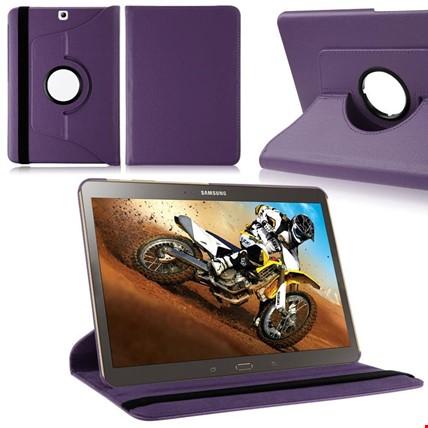 Samsung Galaxy Tab A T280 T580 360 Ayarlanabilir Kılıf Standlı Tablet Modeli: Tab A T280Renk: Mor
