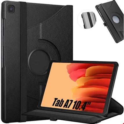 Samsung Galaxy Tab A7 10.4 Sm-T500 360 Ayarlanabilir Kılıf Renk: Siyah