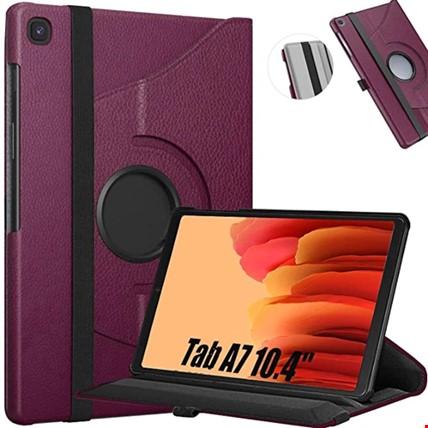 Samsung Galaxy Tab A7 10.4 Sm-T500 360 Ayarlanabilir Kılıf Renk: Mor