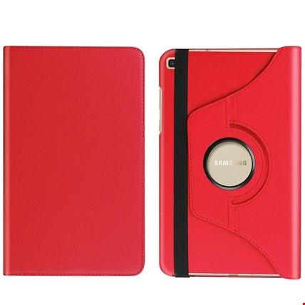 Samsung Galaxy Tab A7 10.4 Sm-T500 360 Ayarlanabilir Kılıf Renk: Kırmızı