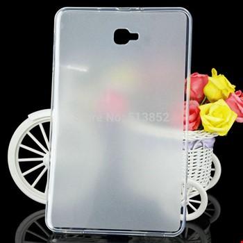 Samsung Galaxy Tab A P580 P585 Silikon TPU Buzlu Şeffaf Kılıf