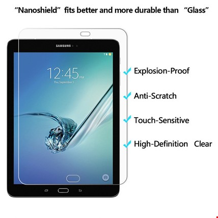 Samsung Galaxy Tab P580 590 T560 830 Nano Kırılmaz Ekran Koruyucu Tablet Modeli: P580