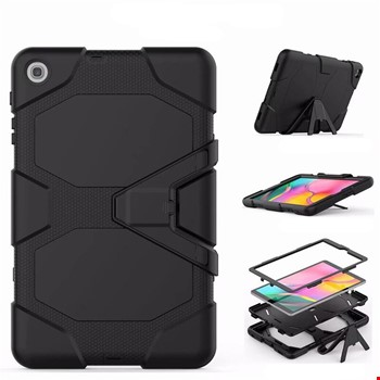 Samsung Galaxy Tab S6 Lite 10.4 P610 Zırh Armor Standlı Kılıf