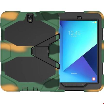 Samsung Galaxy Tab T810 T815 T817 Zırh Armor Kılıf Renk: HakiTablet Modeli: T815 T817 T818