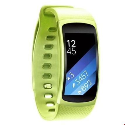 Samsung Gear Fit 2 R360 Silikon Kordon Kayış Renk: Yeşil