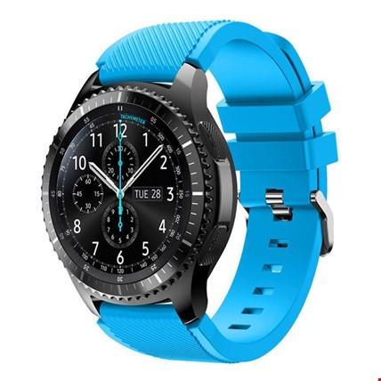 Huawei Watch Gt Gt2 Gt2 Pro Silikon TME Kordon Kayış Renk: Mavi Açık