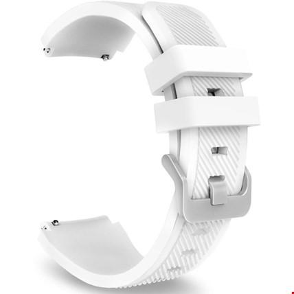 Huawei Watch Gt Gt2 Gt2 Pro Silikon TME Kordon Kayış Renk: Beyaz