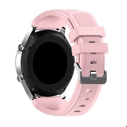 Huawei Watch Gt Gt2 Gt2 Pro Silikon TME Kordon Kayış Renk: Pembe Açık