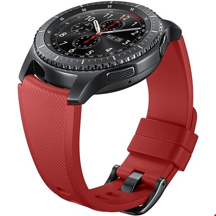 Huawei Watch Gt Gt2 Gt2 Pro Silikon TME Kordon Kayış Renk: Bordo