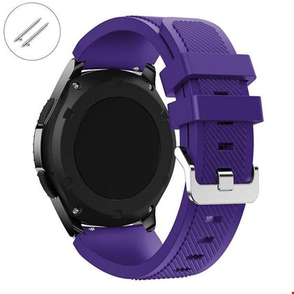 Huawei Watch Gt Gt2 Gt2 Pro Silikon TME Kordon Kayış Renk: Mor