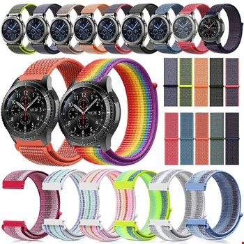 Samsung Galaxy Watch 46mm Loop Örgü Spor TME Kordon Kayış