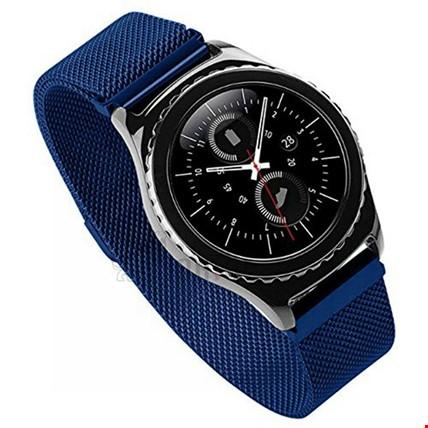Huawei Watch Gt Gt2 Gt2 Pro Spor Metal Hasır TME Kordon Renk: Mavi