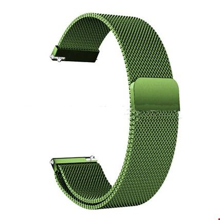 Huawei Watch Gt Gt2 Gt2 Pro Spor Metal Hasır TME Kordon Renk: Yeşil