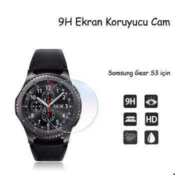 Samsung Gear S3 Frontier & Classic Temperli Cam Koruyucu 2 Adet
