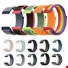 Amaz fit Hay lou Ls01 Loop Örgü Spor TME Kordon Kayış 20mm
