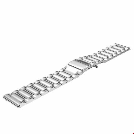 Samsung Gear Watch 42mm Metal TME Kordon Kayış Steel 20mm Renk: Gümüş