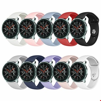 Samsung Gear Watch 42mm Silikon TME Kordon Yeni Model 20mm