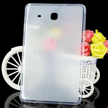 Samsung Galaxy Tab E T560 T562 Silikon TPU Buzlu Şeffaf Kılıf