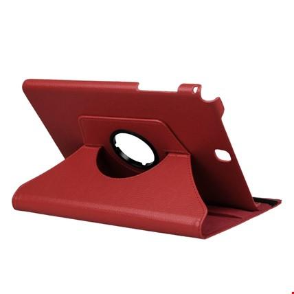 Samsung Galaxy Tab S6 Lite P610 Kılıf Standlı 360º Tablet Kılıfı Renk: Kırmızı