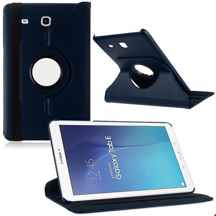 Samsung Tab E 8.0 T377 Kılıf Standlı Renk: Lacivert