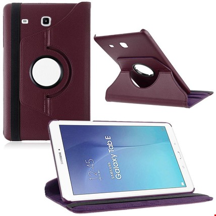 Samsung Tab E 8.0 T377 Kılıf Standlı Renk: Mor