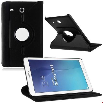 Samsung Tab E 8.0 T377 Kılıf Standlı Renk: Siyah