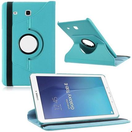Samsung Tab E 8.0 T377 Kılıf Standlı Renk: Turkuaz