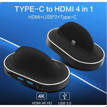 Samsung S8 S9 Plus Note 8 9 Huawei Mate 10 Pro HDMI Dex Station